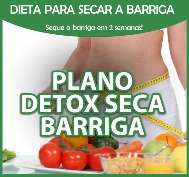 dieta-detox-secar-barriga Plano Detox Seca Barriga - Funciona?