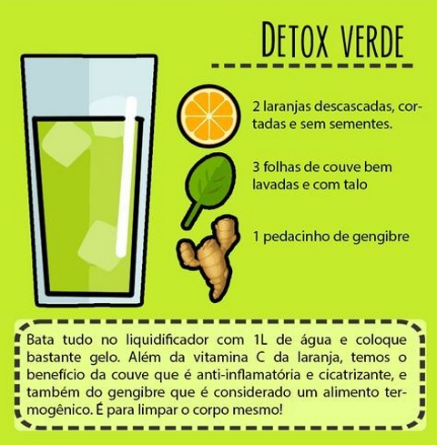 receita-suco-detox-verde Receitas de Sucos DETOX